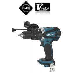 Perceuse visseuse a percussion Makita 18V Li-Ion  4 Ah - Makita DHP458Z