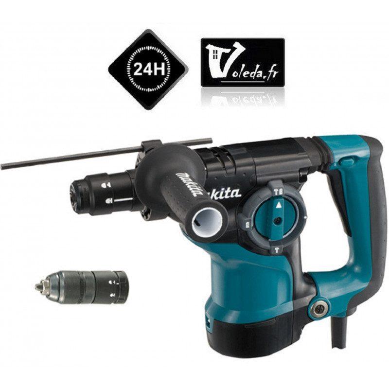 Perforateur burineur Makita SDS Plus 800 W - Makita HR2811FT