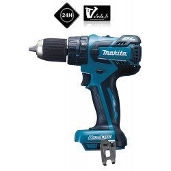 Perceuse visseuse a percussion Makita 18 V Li-Ion 4 Ah - Makita DHP459Z