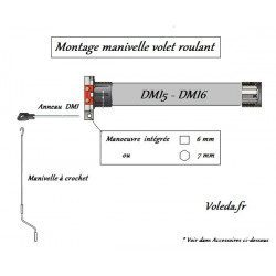 Moteur Simu DMI6 40 newtons 40/17