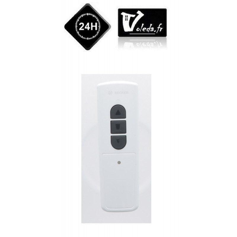 Telecommande becker easycontrol ec541 blanche