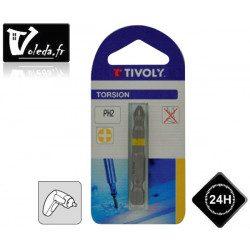 Embouts de vissage Tivoly Torsion Philips 50mm N 1-2-3