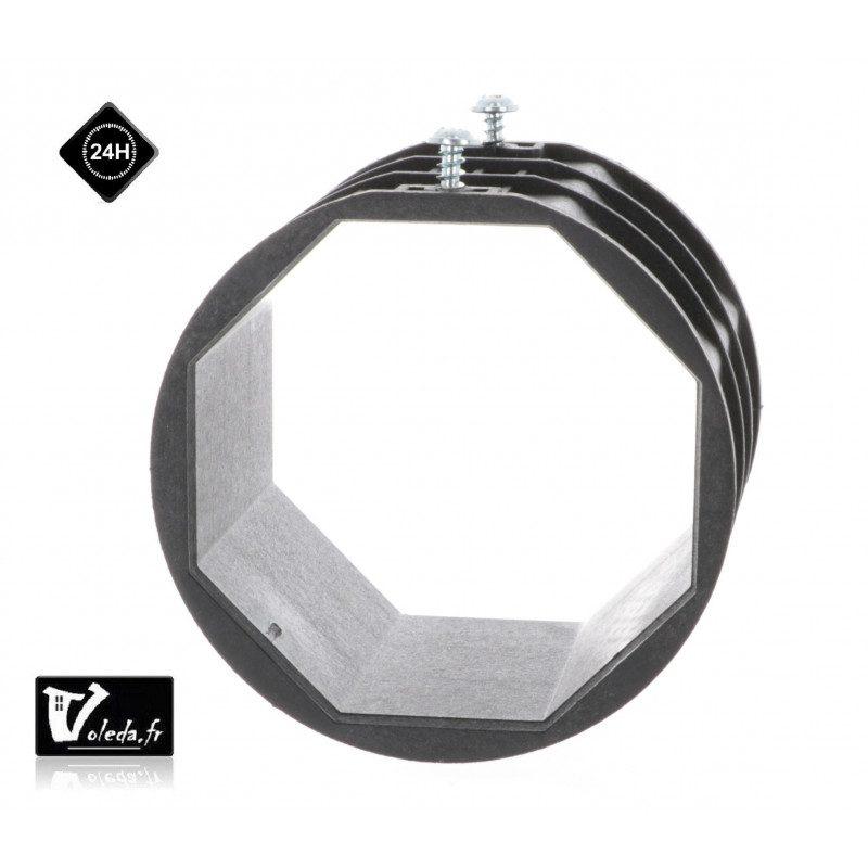 Bagues attaches DVA pour tubes octogonaux 70