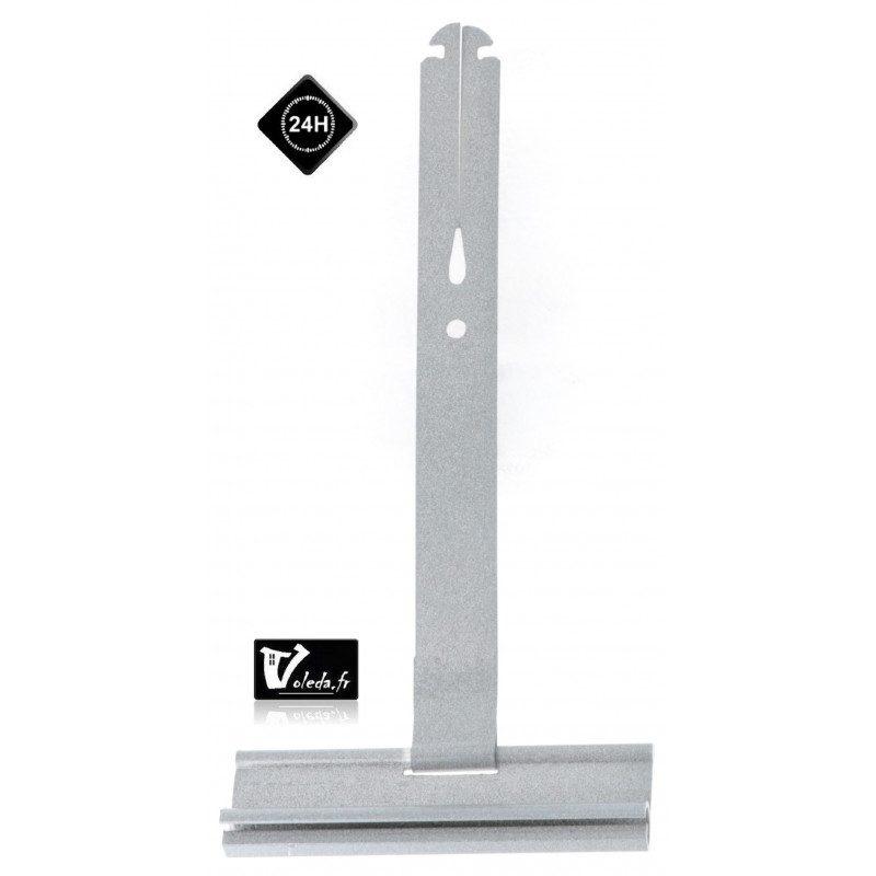 Attache souple ressort tablier volet roulant 190 mm lame 14 mm