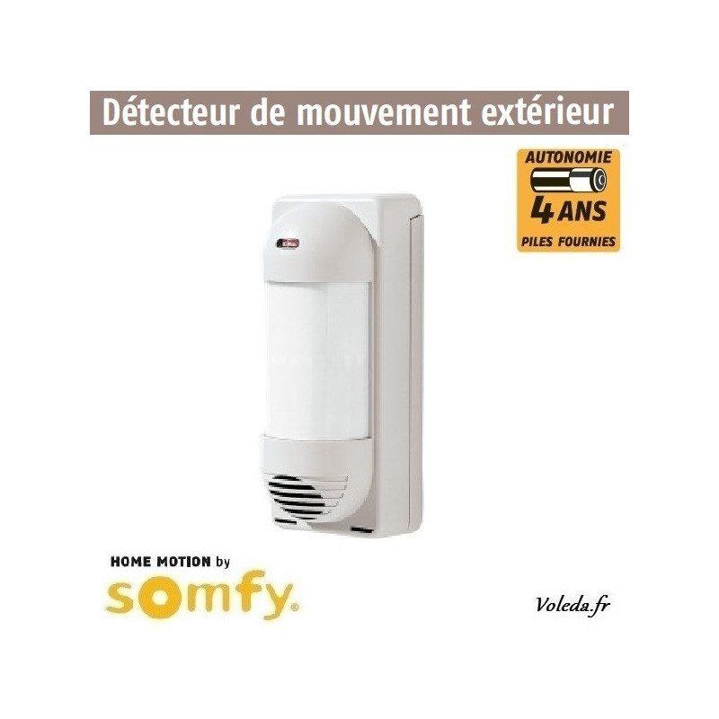 Detecteur de mouvement extérieur Somfy alarme