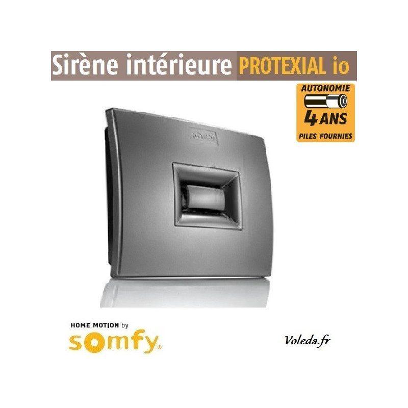 Sirène intérieure alarme Somfy Protexial io