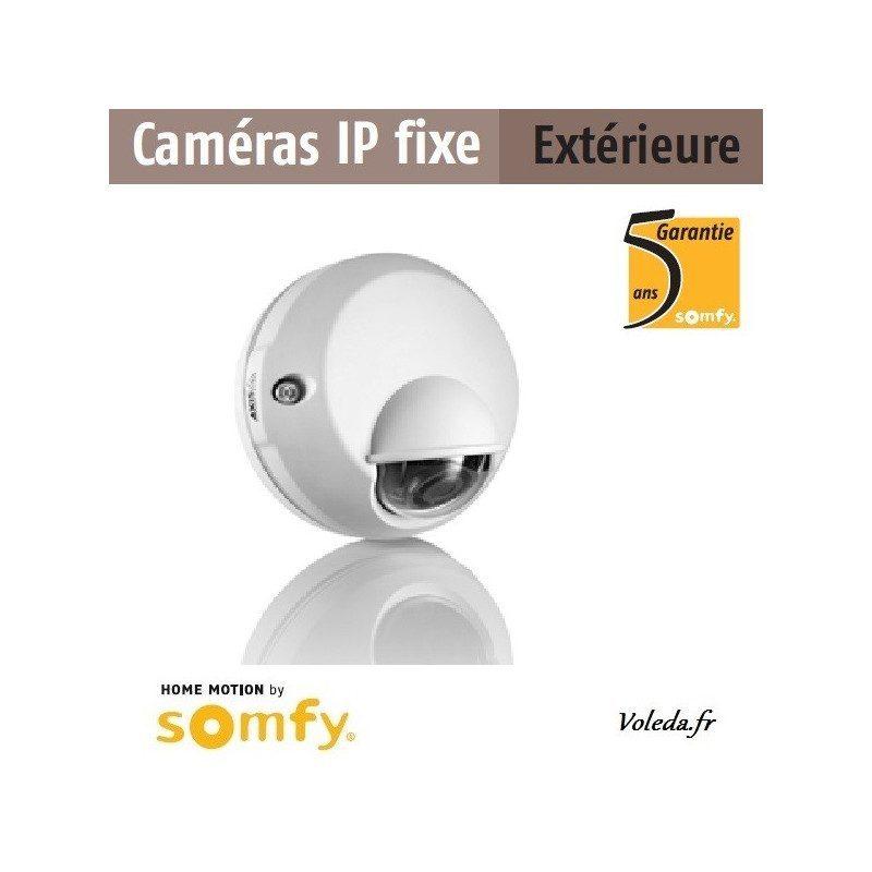Caméra IP fixe extérieure alarme Somfy