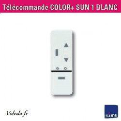 Telecommande Simu Sun Color+ 1 canal store soleil-vent