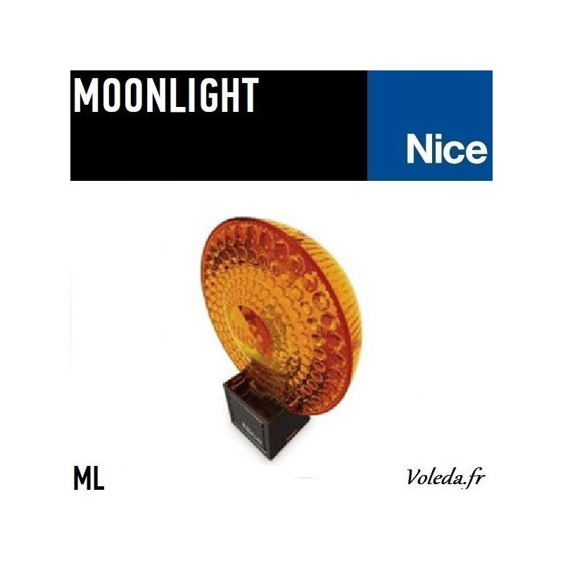Gyrophare Nice MoonLight ML Orange