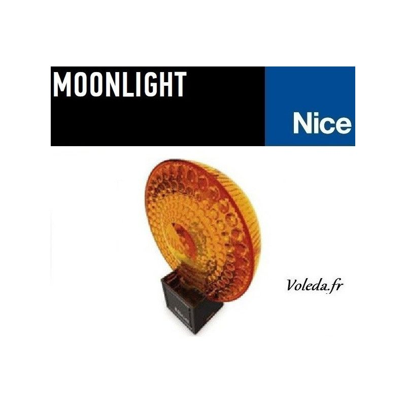 Lampe Nice MoonLight ML24 gyrophare orange