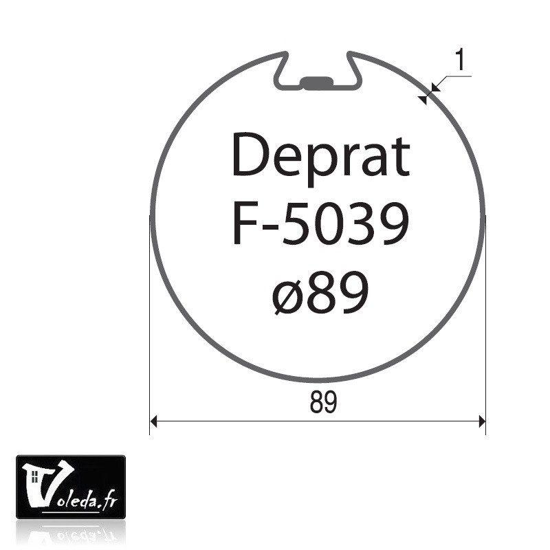 Bague moteur volet roulant Becker L - Deprat 89