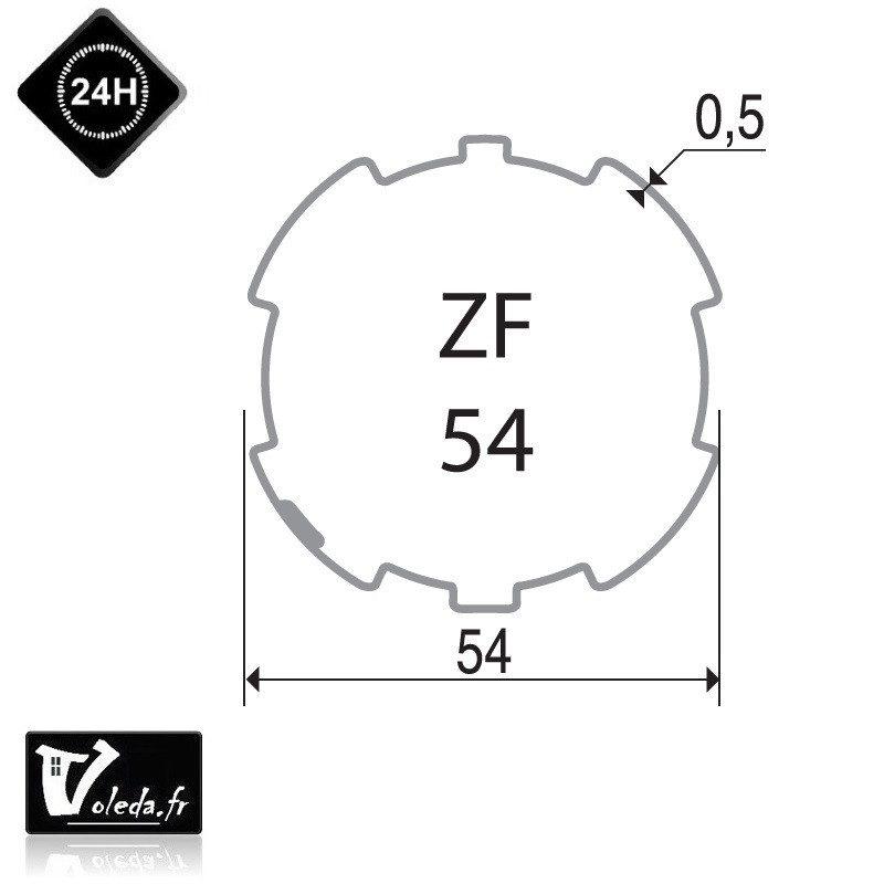 Bagues adaptation moteur Came 45 mm ZF 54