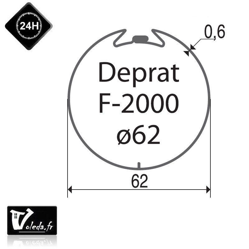 Bagues adaptation moteur Came 45 mm Deprat 62