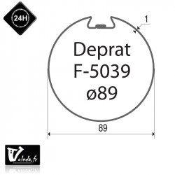 Bagues adaptation moteur Came 45 mm - Rond Deprat 89