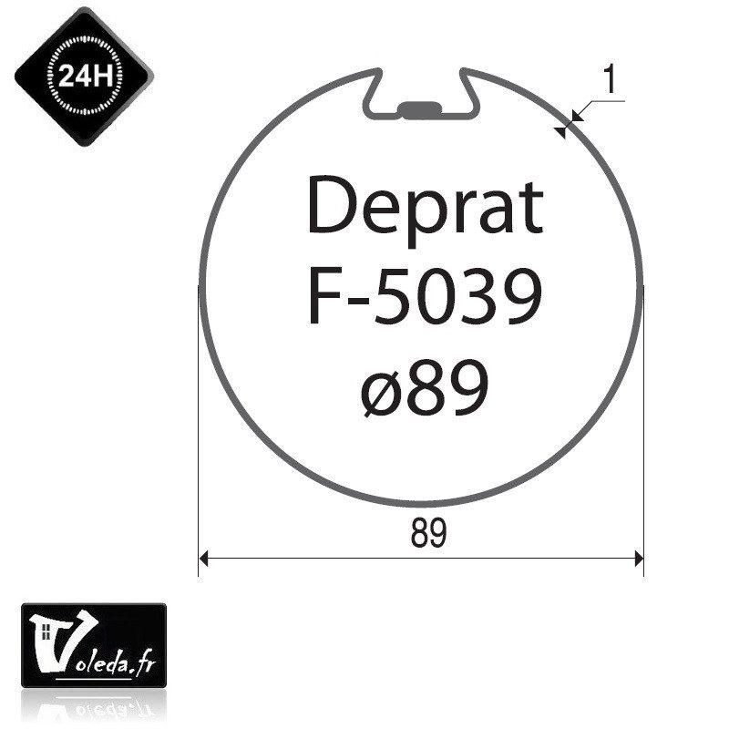 Bagues adaptation moteur Came 45 mm Deprat 89