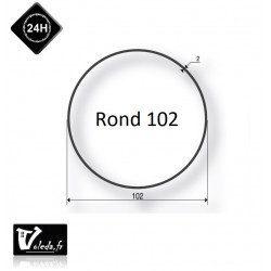 Bague adaptation moteur Somfy LT60 Rond 102