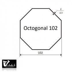 Bague adaptation moteur Nice Era L octogonal 102