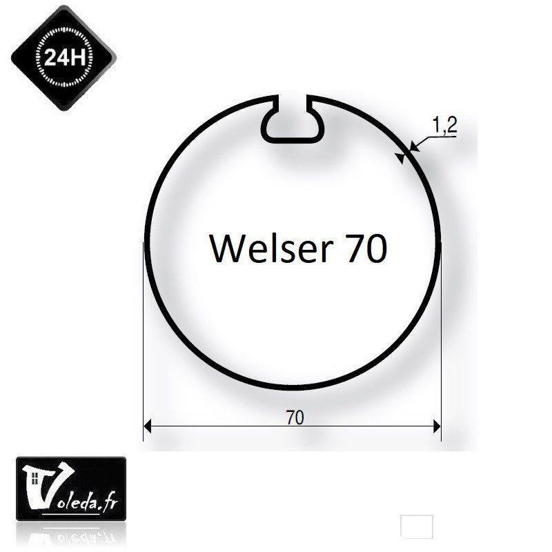 Bague adaptation moteur Somfy LT50 Welser 70