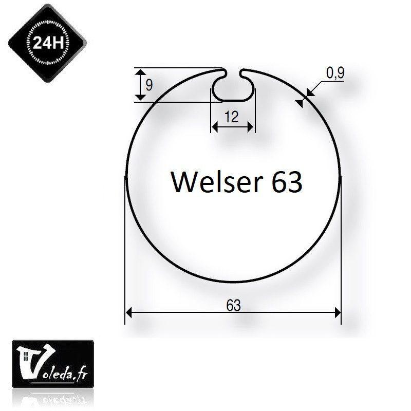 Bague adaptation moteur Deprat tube Welser 63