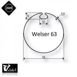 Bague adaptation moteur Somfy LS40 Welser 63