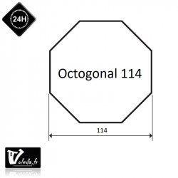 Bague moteur volet roulant Simu T6 Dmi6 - Octogonal 114