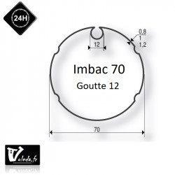 Bagues moteur volet roulant Simu-Somfy - Imbac 70 Goutte 12