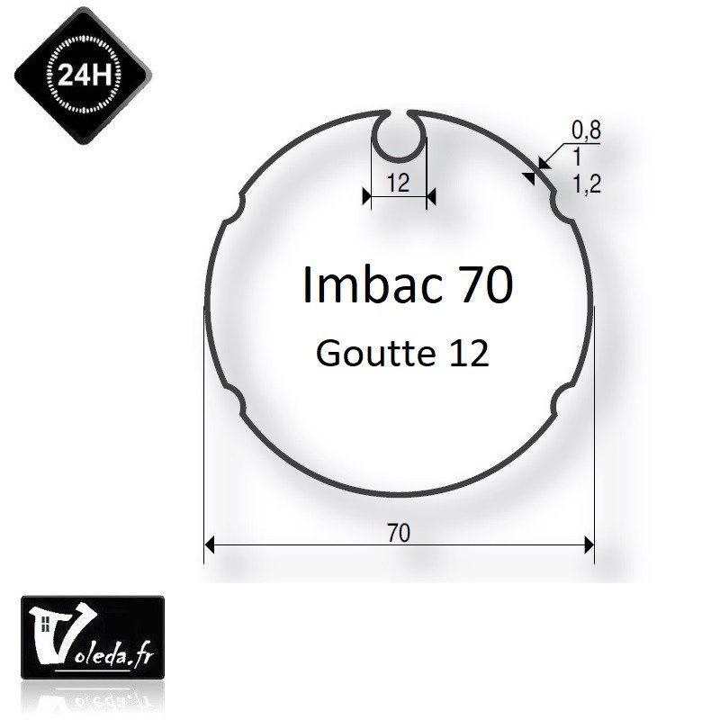 Bagues moteur volet roulant Simu T5 Dmi5 - Imbac 70