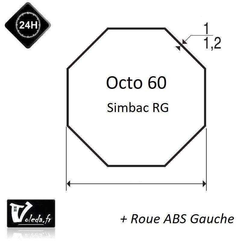 Bagues moteur volet roulant Simu T5 Dmi5 - Octo 60 Simbac RG