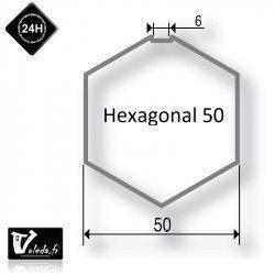 Bague adaptation moteur Somfy LT50 Hexagonal 50