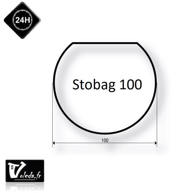 Bague adaptation moteur Somfy LT60 Stobag 100