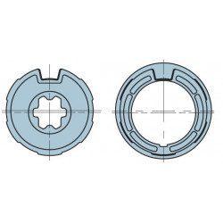 Bague adaptation moteur Nice Neo S - Era S - Rond 53x1,5 ogive