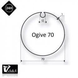 Bagues adaptation moteur Came 45 mm - Ogive 70