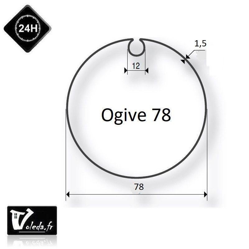 Bagues adaptation moteur Came 45 mm - Ogive 78