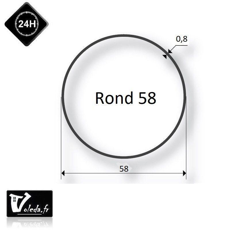 Bagues adaptation moteur Came 45 mm Rond 58