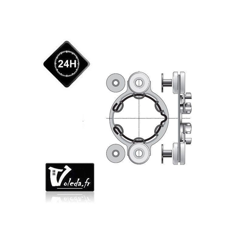 Support moteur Somfy - Anti-vibratoire