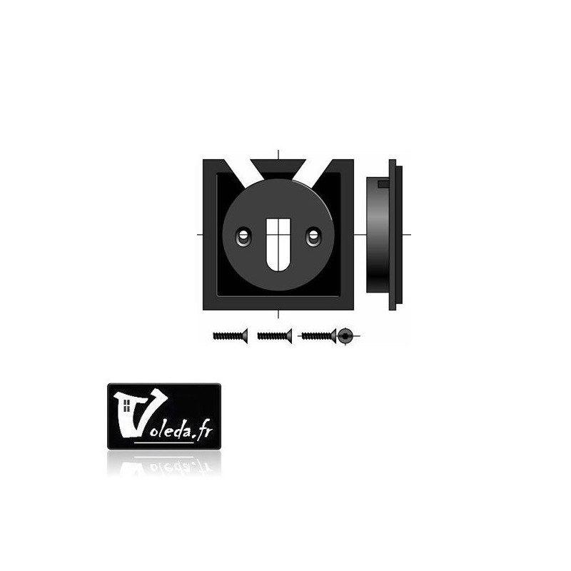 Support moteur Somfy Ls 40 - caisson à tiroir 68 et 88 mm
