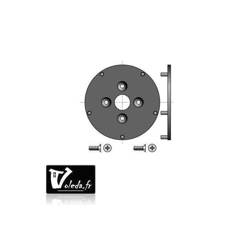 Plaque Rehau support moteur Somfy Ls 40