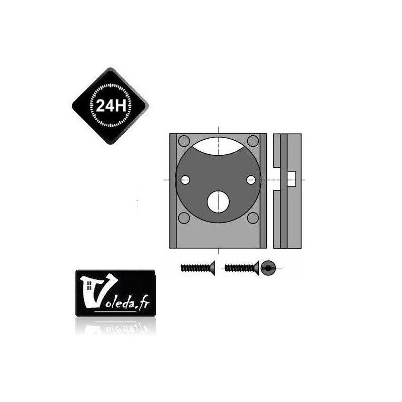 Support moteur Somfy Ls40 - caisson à tiroir 40 mm