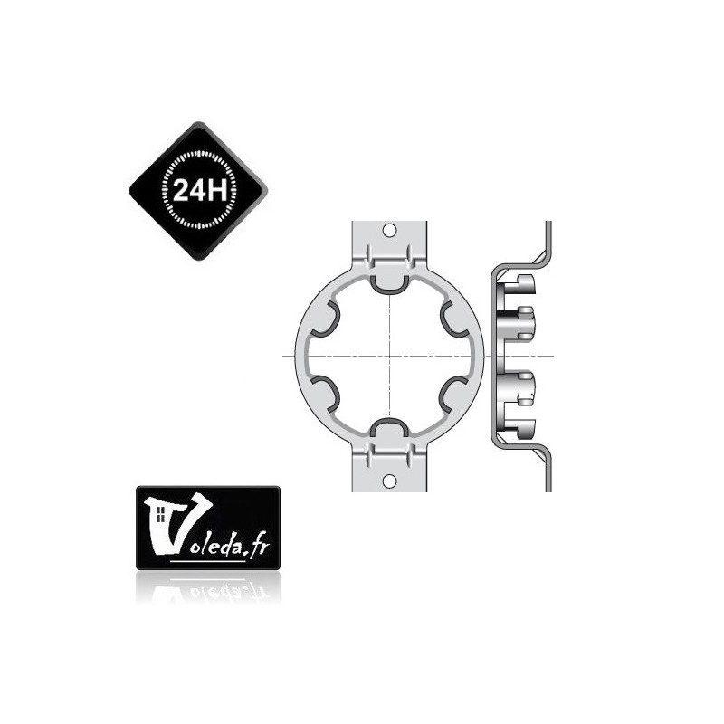 Support moteur Somfy LT50 - OMEGA - caisson Plastival,SPPF