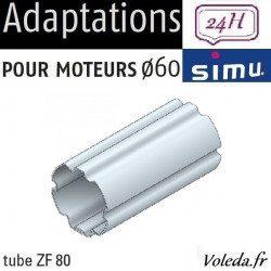 Bagues moteur volet roulant Simu T6 Dmi6 - ZF 80