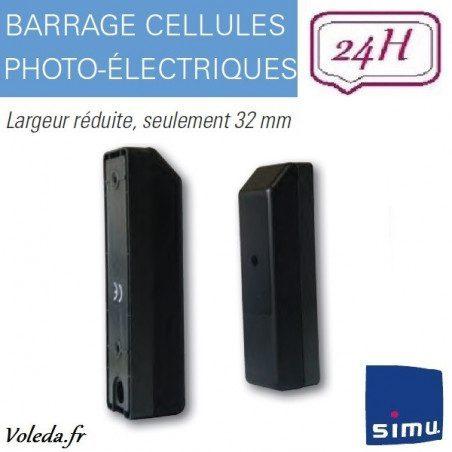 Barrage Cellules Photo-Electriques Simu