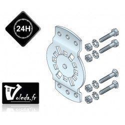 Support moteur Somfy CSI LT50/LT60 - entraxe 40 à 45 mm