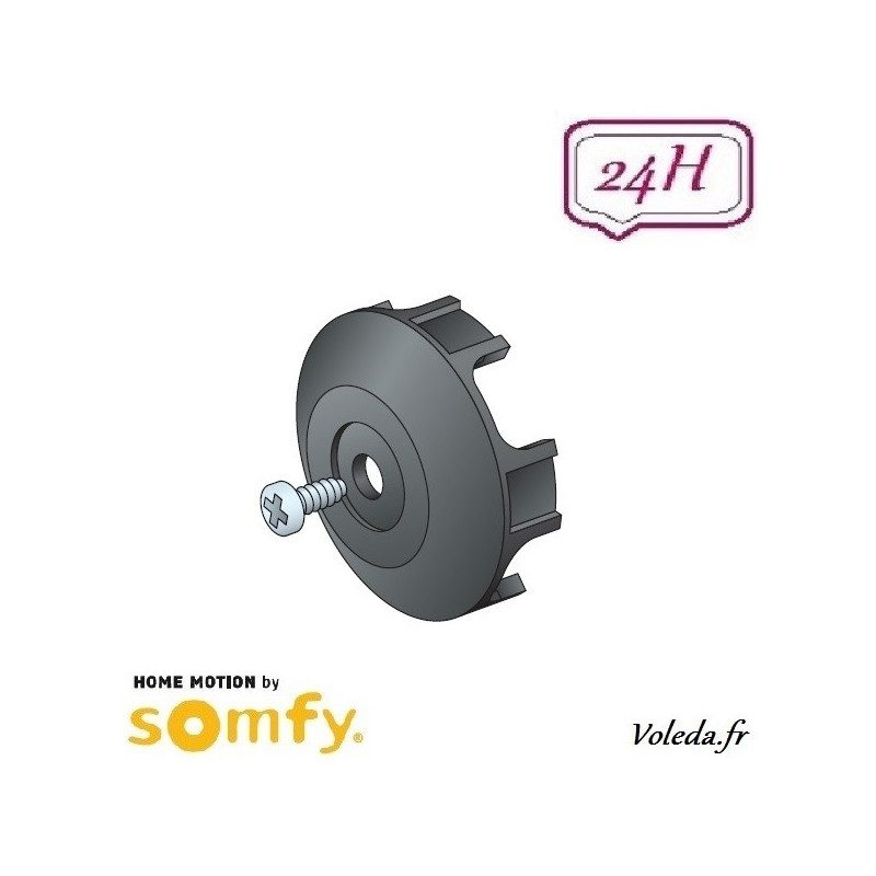 Stop Roue pour bagues d'adaptation Somfy LT60