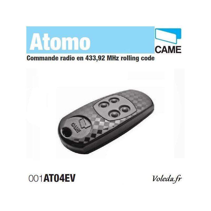 Telecommande Came Atomo 4 canaux - Portail