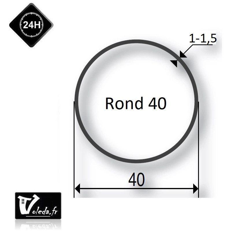 Bagues moteur volet roulant Simu-Somfy - Rond 40
