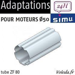 Bagues moteur volet roulant Simu T5 Dmi5 - ZF 80