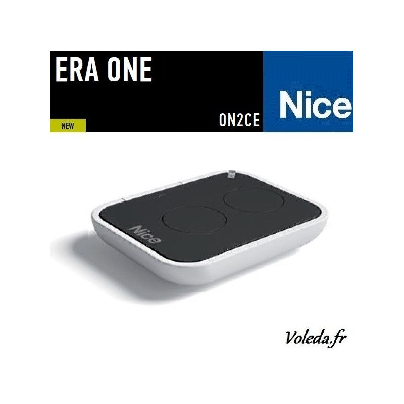 Telecommande - Emetteur Nice Era One 2 canaux - ON2CE