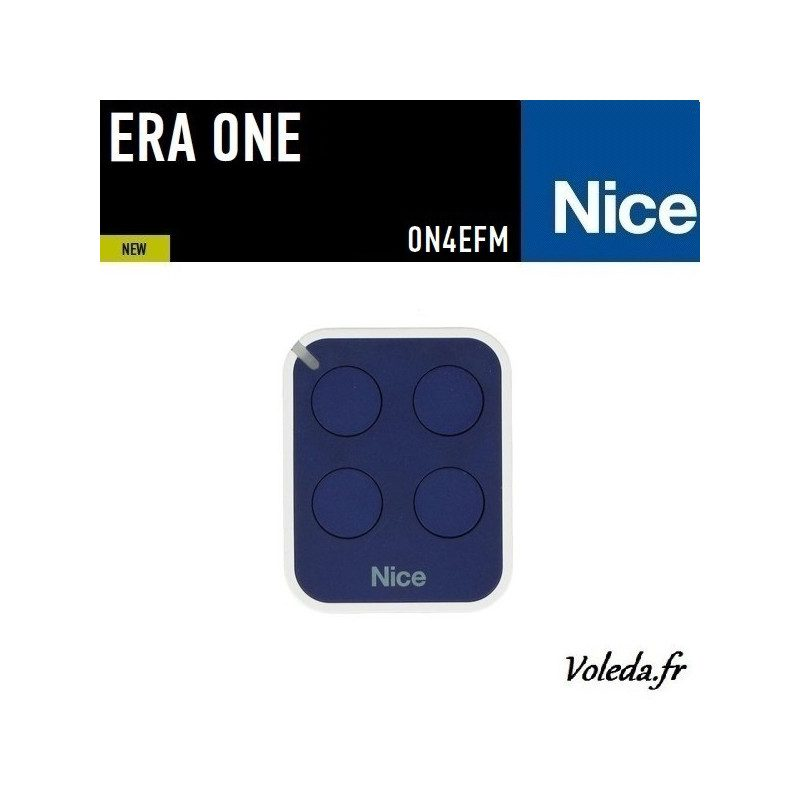 Telecommande - Emetteur Nice Era One 4 canaux - 868.46 Mhz