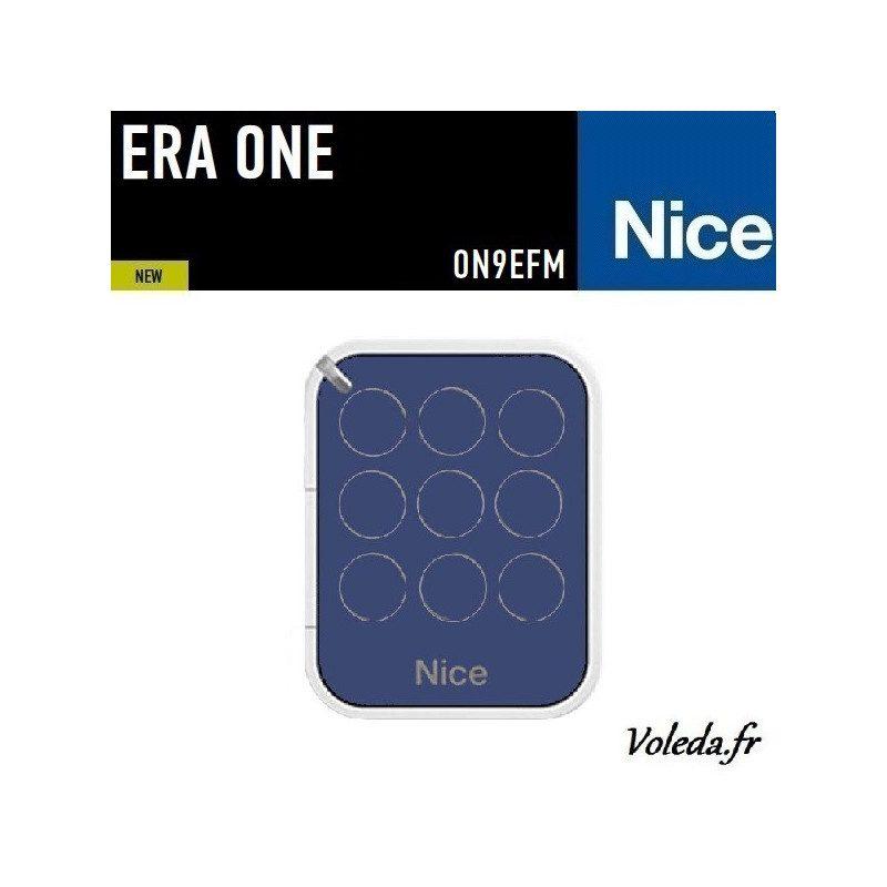 Telecommande - Emetteur Nice Era One 9 canaux - 868.46 Mhz