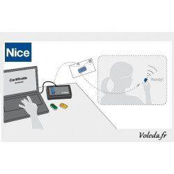 Telecommande - Emetteur Nice Era Inti 1 canal - Jaune